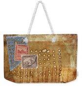 Torn And Burned Weekender Tote Bag by Carol Leigh