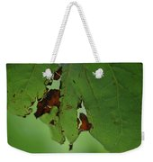 Torn Leaf Abstract Weekender Tote Bag