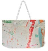 Torn To Red Line  Weekender Tote Bag
