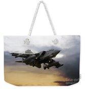 Tornado Sunset Weekender Tote Bag