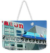 Toronto Airport Shuttle Weekender Tote Bag