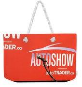 Toronto Autoshow Weekender Tote Bag