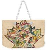 Toronto Blue Jays Poster Art Weekender Tote Bag
