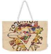 Toronto Blue Jays Vintage Art Weekender Tote Bag