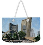 Toronto City Hall Weekender Tote Bag