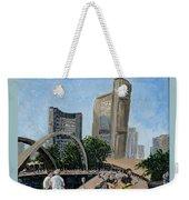 Toronto City Hall Weekender Tote Bag