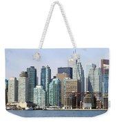 Toronto Downtown Weekender Tote Bag