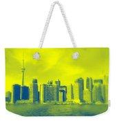 Toronto Downtown View Weekender Tote Bag