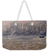 Toronto Harbor Morning Weekender Tote Bag