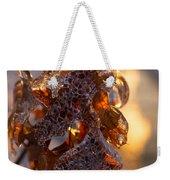 Toronto Ice Storm 2013 - Oak Leaves Jewelry Weekender Tote Bag