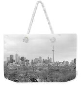 Toronto In Black And White Weekender Tote Bag