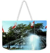 Toronto Island Fountain Weekender Tote Bag
