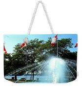 Toronto Island Fountain Weekender Tote Bag