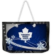 Toronto Maple Leafs Christmas Weekender Tote Bag