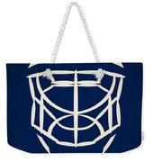 Toronto Maple Leafs Goalie Mask Weekender Tote Bag