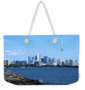 Toronto Ontario Canada Skyline Weekender Tote Bag