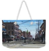 Toronto Yonge And College 1916 Weekender Tote Bag