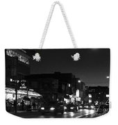 Toronto's China Town After Sunset Weekender Tote Bag