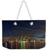 Toronto's Dazzling Skyline  Weekender Tote Bag