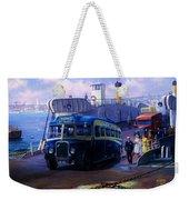 Torpoint Ferry. Weekender Tote Bag