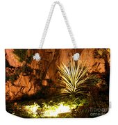 Torquay Illuminated Gardens Landscape Weekender Tote Bag