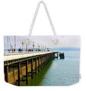 Torquay Princess Pier Devon Weekender Tote Bag