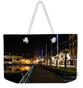 Torquay Victoria Parade At Night Weekender Tote Bag