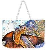 Tortoise Gouache Weekender Tote Bag