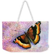 Tortoiseshell Butterfly Weekender Tote Bag