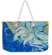 Tossed In The Waves Weekender Tote Bag
