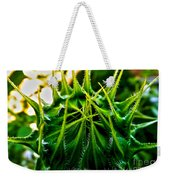 Total Eclipse Of The Sunflower Weekender Tote Bag