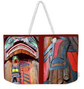 Totem 2 Weekender Tote Bag by Theresa Tahara