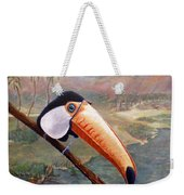 Toucan On A Limb Weekender Tote Bag
