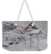 Touch Of Color Weekender Tote Bag