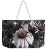Touch Of Red Invite Weekender Tote Bag