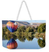 Touchdown On The Yakima River Weekender Tote Bag