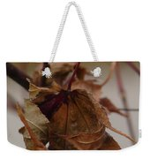 Touched By Jack Frost Weekender Tote Bag
