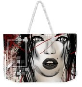Tough Love Weekender Tote Bag