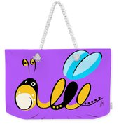 Thoughts And Colors Series Bee Weekender Tote Bag