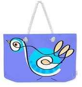 Thoughts And Colors Series Bird Weekender Tote Bag