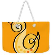 Thoughts And Colors Series Chick Weekender Tote Bag
