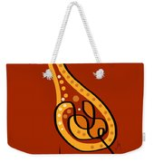 Thoughts And Colors Series Giraffe Weekender Tote Bag