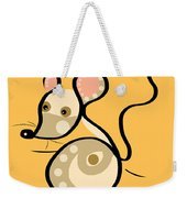 Thoughts And Colors Series Mouse Weekender Tote Bag