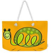 Thoughts And Colors Series Turtle Weekender Tote Bag