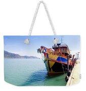 Tour Boat Weekender Tote Bag