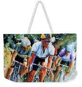 Tour De Force Weekender Tote Bag by Hanne Lore Koehler