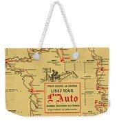 Tour De France 1914 Weekender Tote Bag