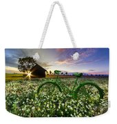 Tour De France Weekender Tote Bag by Debra and Dave Vanderlaan