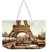 Tour Eiffel And Exposition Universelle Paris Weekender Tote Bag