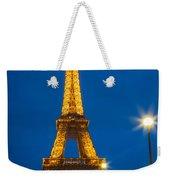 Tour Eiffel De Nuit Weekender Tote Bag